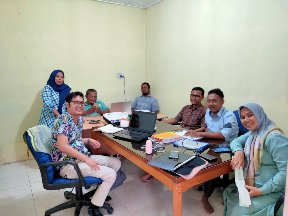 Consolidation Meeting with LSGK to Protect the Biodiversity In Aceh Province through Law Enforcement (October 17, 2019)